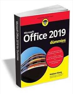 Gratis, el libro Office 2019 For Dummies