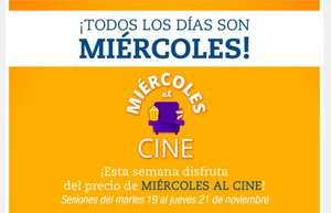 OFERTA CINE PRECIO DE MIERCOLES!!