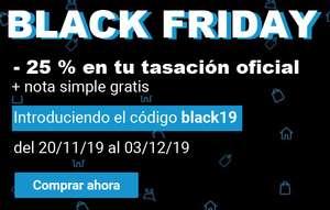 -25% EN TASACIÓN OFICIAL TINSA