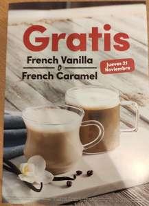 French Vanilla o French Caramel GRATIS