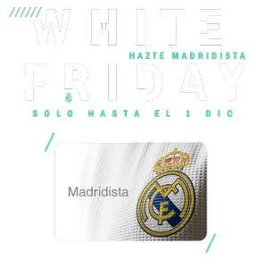 Carnet Madridista por 5€ y descuento 35% en tienda