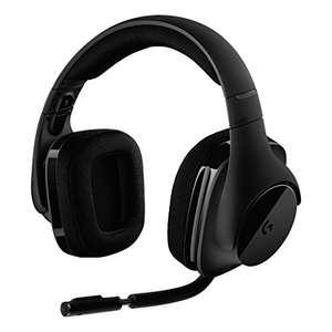 Auriculares Logitech G533 Gaming Headset DTS 7.1, inalámbricos por 79,99 €
