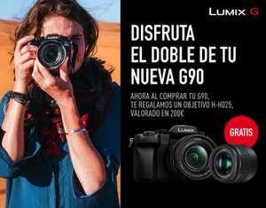 Objetivo Panasonic H-H025 de regalo al comprar Lumix G90