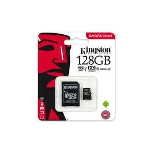 Kingston MicroSD 128GB CL10 UHS1