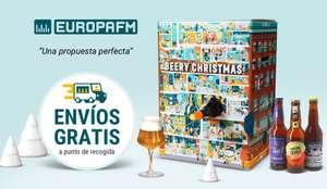 Calendario de Adviento con 24 cervezas del mundo