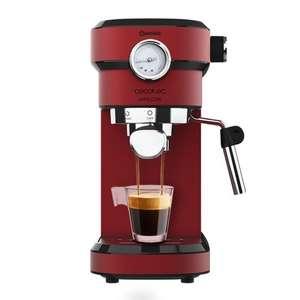 Cecotec Cafelizzia 790 Shiny Pro Cafetera Expresso con Manómetro 20 Bares
