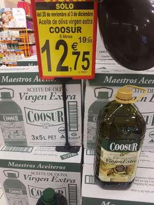 Aceite de oliva virgen extra 5L Coosur. Supersol
