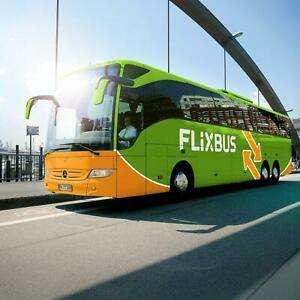 1 Cupón de FlixBus para viajar por Europa por € 9,99 por Persona