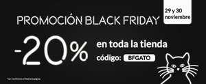 -20% en toda la tienda A LOJA DO GATO PRETO