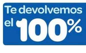Devolución del 100% en Carrefour