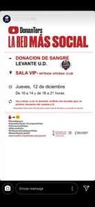 Dos entradas para el levante contra celta de Vigo por donar sangre