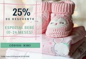 25% de Descuento   Especial Bebé   Solo 48 horas