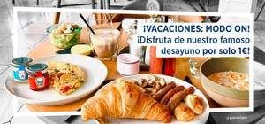 Desayuno en NH por 1 EURO ( Y media pension en algunos casos!!)