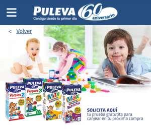 Prueba gratis: Leche Puleva Peques 2, 3, Max y Max Sin Lactosa