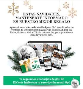 Suscripción anual El Español