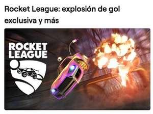 Rocket League: Explosión de gol exclusiva y más con Twitch Prime.