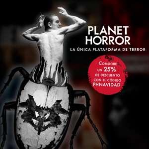 VOD: Películas de terror, 25% descuento (Planet Horror)