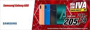 """Samsung Galaxy A50, 6.4"""" FHD+, 4 GB RAM, Memoria 128 GB,"""
