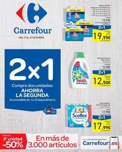 Nuevo catálogo 2x1 en en chequeahorro en exclusiva :) (17/01 al 27/01)