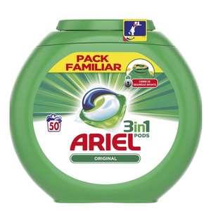 150 Cápsulas Ariel pods [3 x 2 Carrefour]