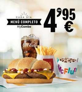 McDonald's Menú Completo My Combo