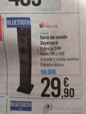 Torre de sonido 50w ngs