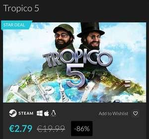 Tropico 5 - Clave para Steam (Fanatical)