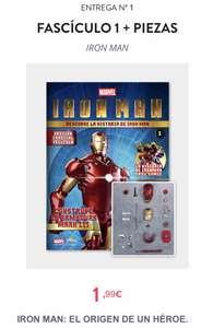 Iron Man - Construye La Cabeza completa Por 1,99€