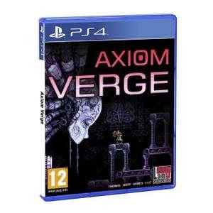 Axiom Verge PlayStation 4 (juego físico)