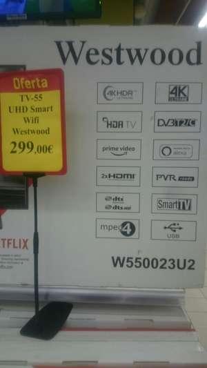 """TV 55"""" UHD SMART WIFI Westwood"""