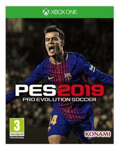 Pro Evolution soccer 2019(Xbox one)(Canarias)