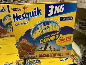 Cometa GRATIS con Nesquik 3kg (Carrefour Atalayas)