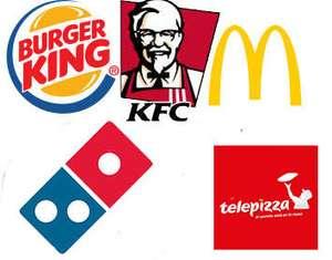 Cupones Burger king y Cupones Mcdonald´s marzo + recopilación de otros