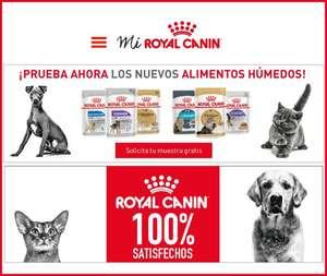 Muestras gratis de Royal Canin para perros y gatos