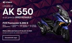 KYMCO AK 550 por 9299€