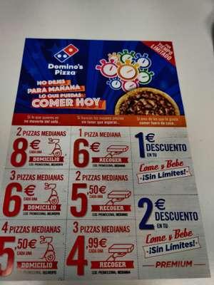 Cupones Extremos Domino's pizza nuevos locales adheridos