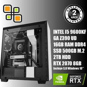 PC Gaming I5 9600k // RTX 2070 8gb // 16gb RAM RGB