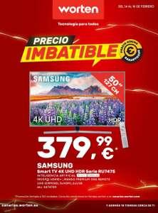 """TV Samsung 50"""" oferta Worten Canarias"""