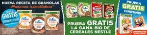 TRIPLE REEMBOLSO: Prueba GRATIS Granolas Fitness, Cereales BIO Nestlé y Cinniminis