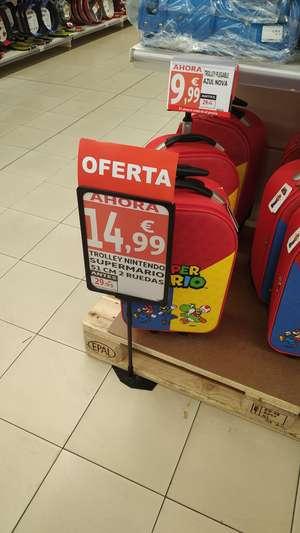 Trolley Nintendo Super Mario (simply de Fraga, Huesca)