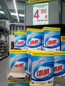 Detergente Colón en polvo 80 lavados. A 0,07€/lavado