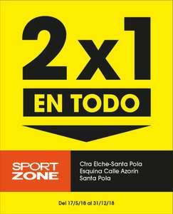 2x1 Sport Zone Santa Pola