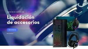 Liquidación de accesorios en Nitropc