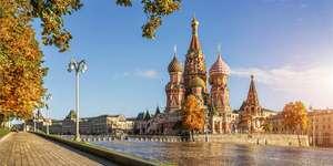 Vuelos directos a Moscú + 7 noches en hotel Hilton de 4* desde 296 por persona