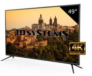 "TV 49"" Led Ultra HD 4K TD Systems K49DLM8U-R (Reaco exposición, acepta paypal)"
