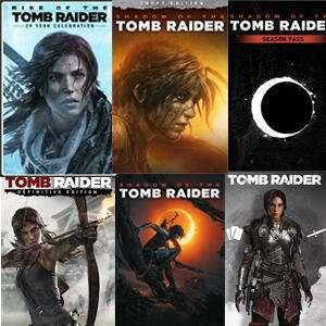 XBOX :: Tomb Raider y Lara Croft 85% descuento