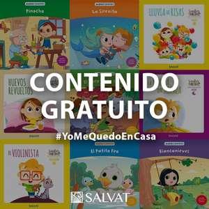 Gratis Libros y audiolibros infantiles Salvat