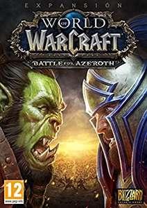 World of Warcraft Battle for Azeroth - Codigo Digital