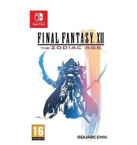 Final Fantasy XII: The Zodiac Age - Nintendo Switch -
