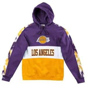 Sudadera M&N Leading Scorer Fleece Hoody LA Lakers. (Talla S)